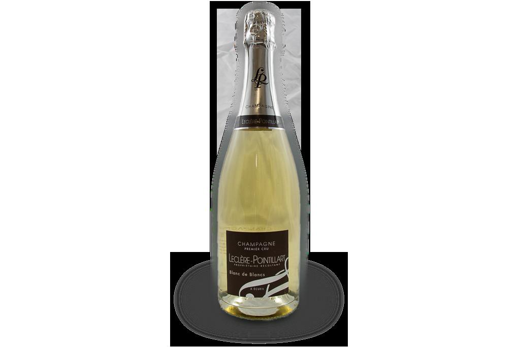 champagne premier cru leclere pointillart bouteille blanc de blancs