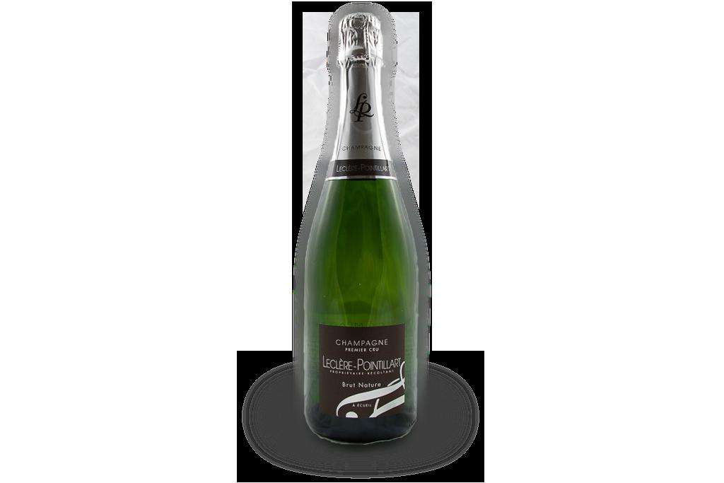 champagne premier cru leclere pointillart bouteille brut nature