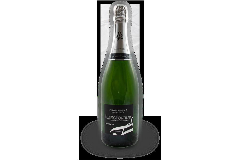 champagne premier cru leclere pointillart bouteille millesime