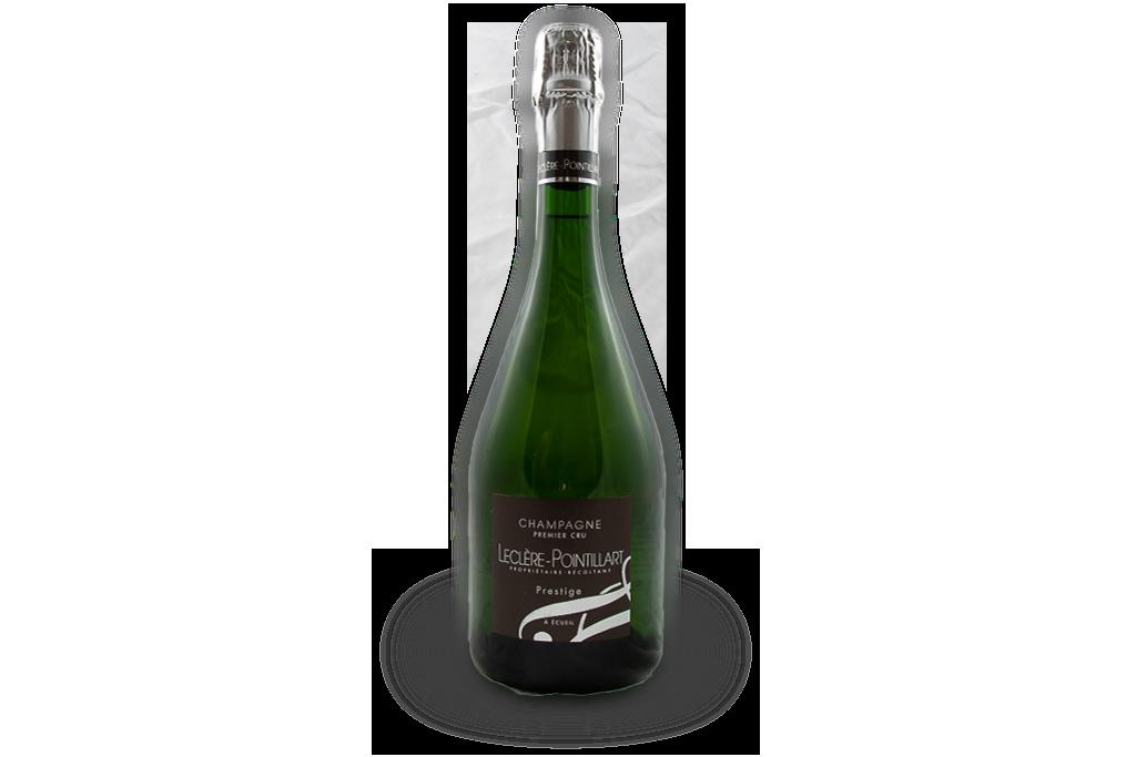 champagne premier cru leclere pointillart bouteille prestige