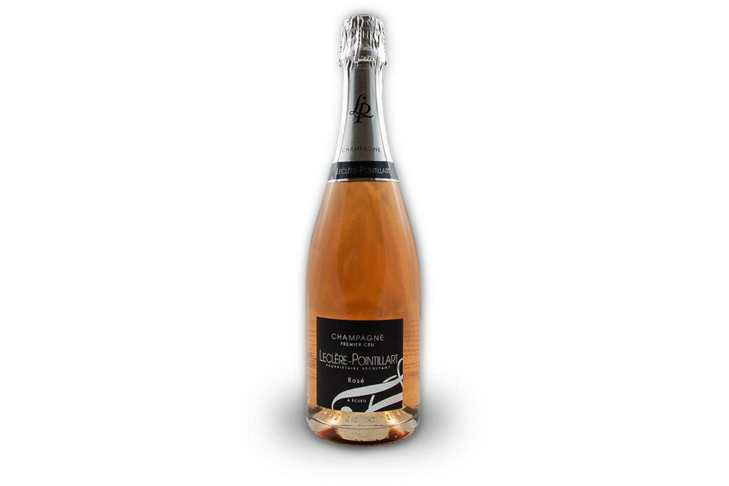 champagne premier cru leclere pointillart bouteille rose