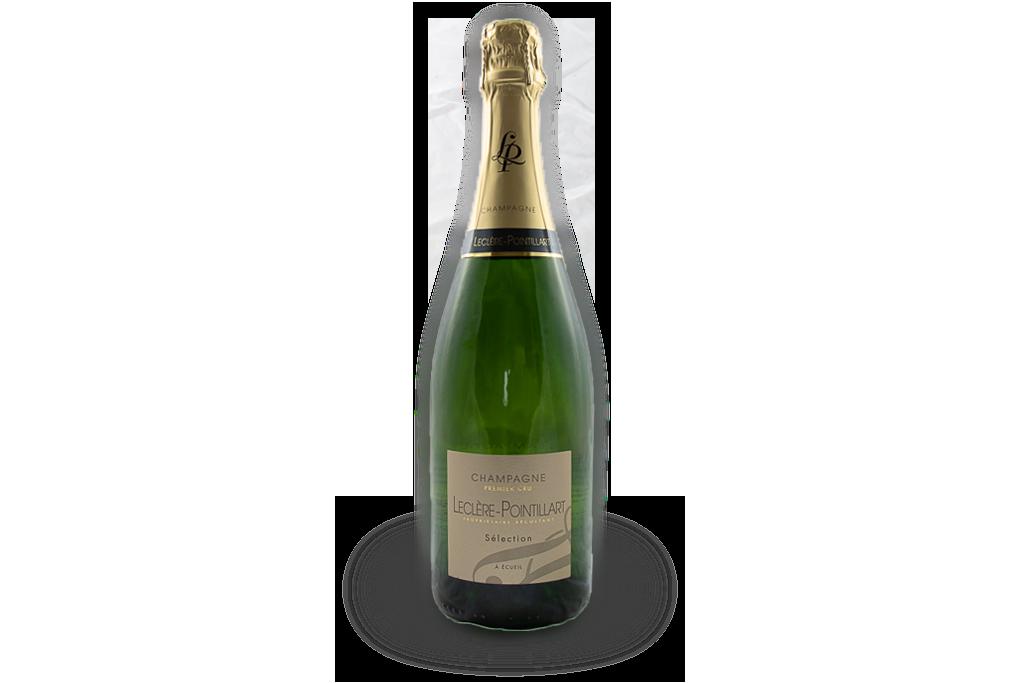 champagne premier cru leclere pointillart bouteille selection
