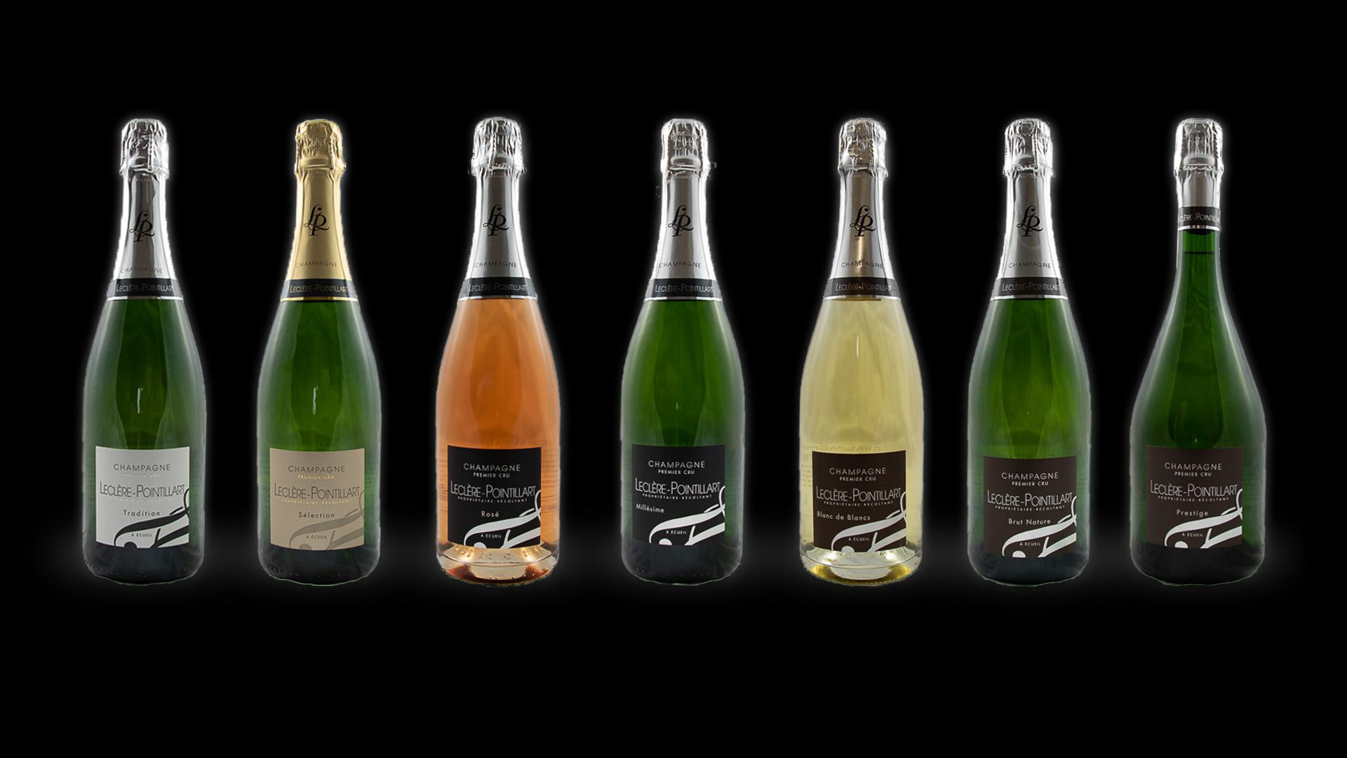 champagne premier cru leclere pointillart gamme